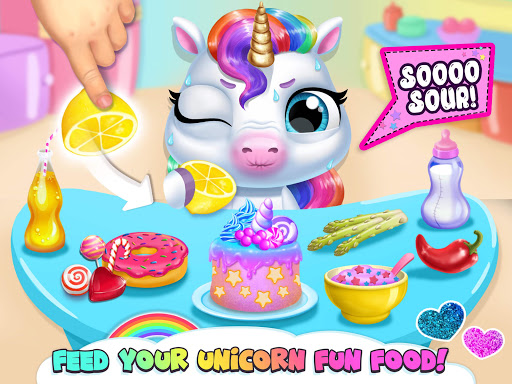 My Baby Unicorn - Cute Rainbow Pet Care & Dress Up 1.0.33 screenshots 21