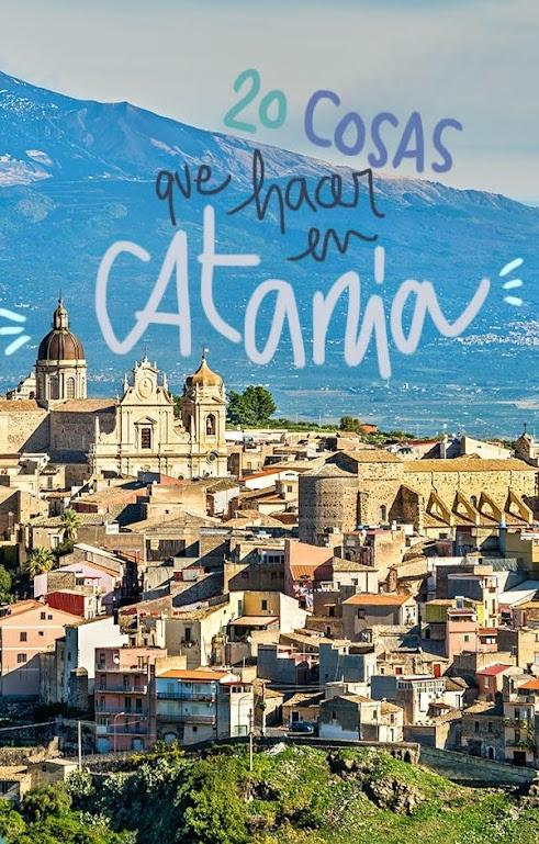 que ver y hacer en Catania