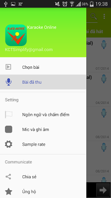 Hát Karaoke Online - screenshot