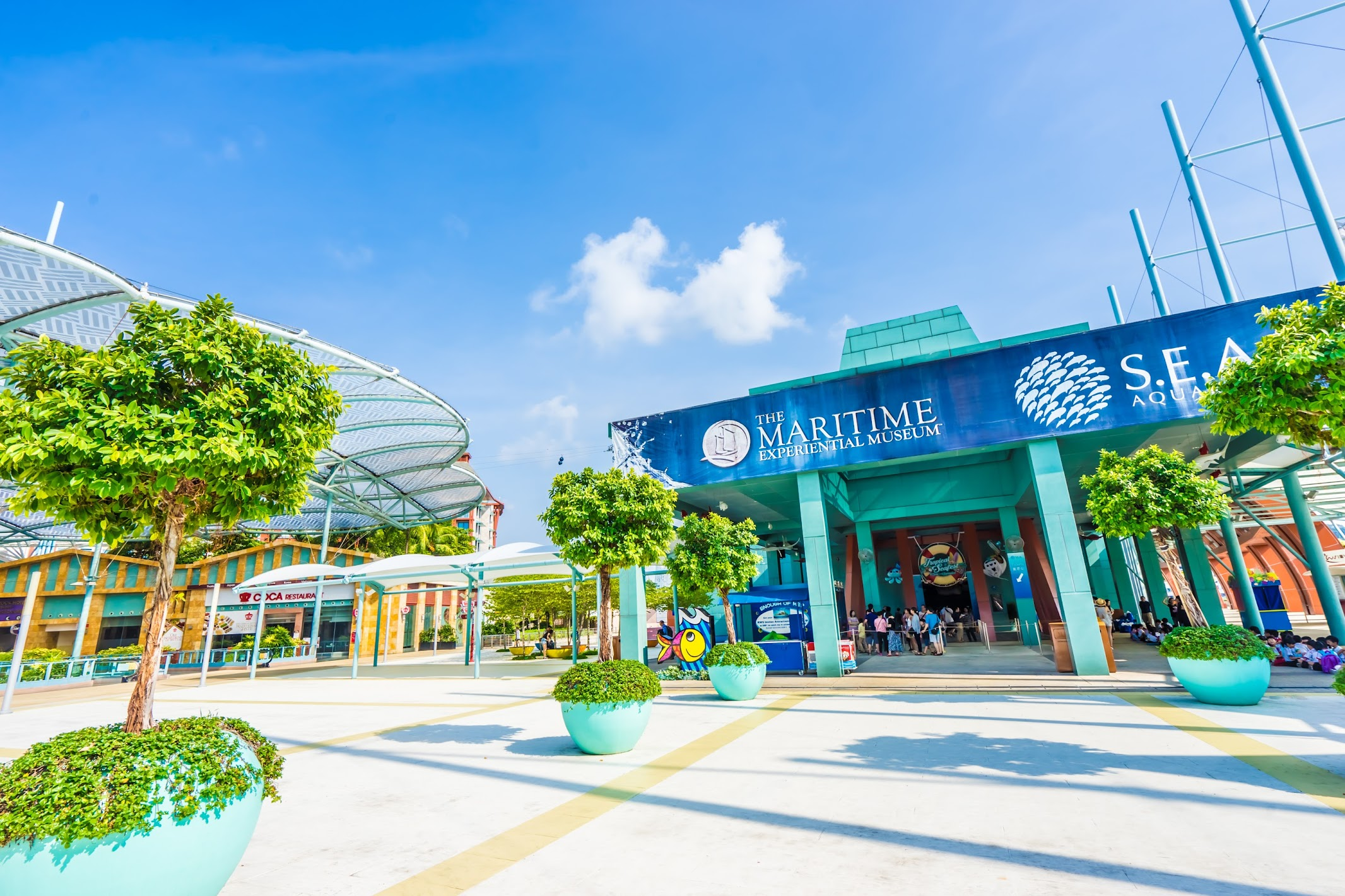 Singapore Sentosa S.E.A. Aquarium1