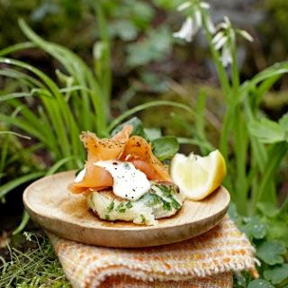 Irish Potato Cakes With Smoked Salmon