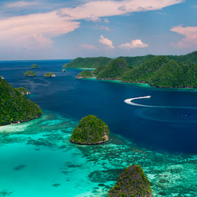 Exotic Wayag Raja Ampat by Paulus Tanu - Landscapes Mountains & Hills