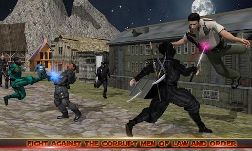 Ninja Survival: Police Force Attack - náhled