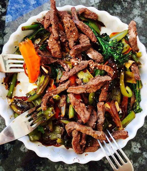 Tenderstem Broccoli And Buffalo Hoisin Stir Fry Recipe