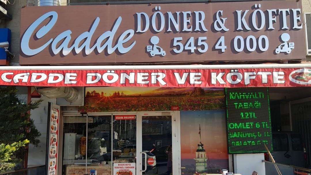 Cadde Döner Köfte Türk Restoranı