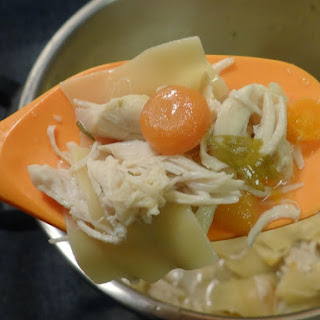 Hearty Garlic Chicken Noodle Soup