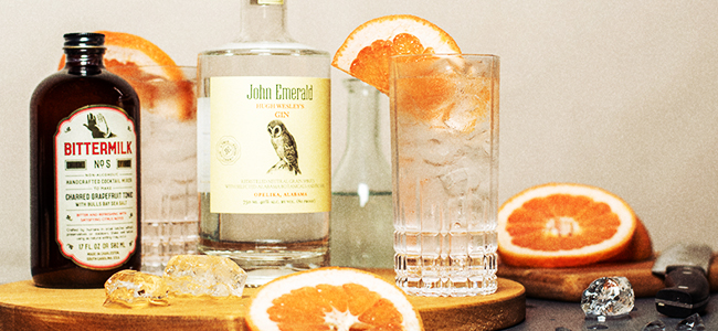 Try The Grand Bay Gin and Tonic