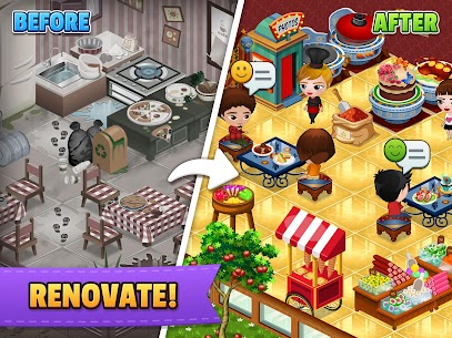 Cafeland MOD Apk 2.1.75 (Unlimited Money) 9