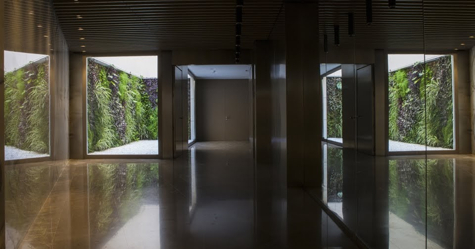 Jardines verticales en Valencia