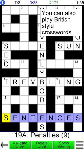 Arrow Crossword 2.0 screenshots 2
