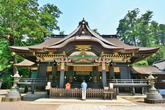 香取神宮拝殿・本殿