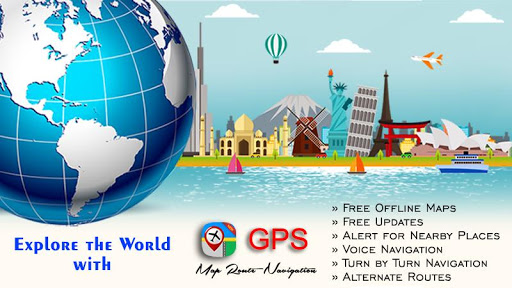 GPS Map Route Navigation - Live Street View 1.0.3 screenshots 1