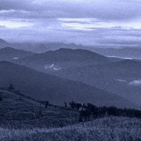 The Blue Mountains by Debdatta Chakraborty - Landscapes Mountains & Hills ( pwcotherworldly )