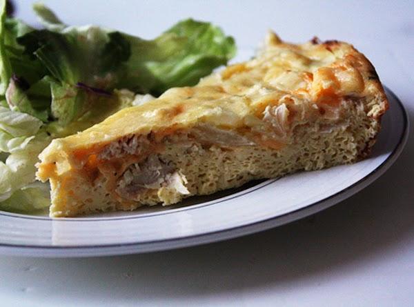 Chicken-almond Quiche Recipe