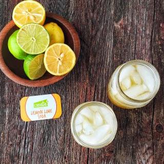 Homemade Lemon Lime Soda.