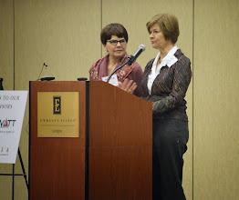 Photo: Prichard Committee Members Pam Sexton & Lois Weinberg