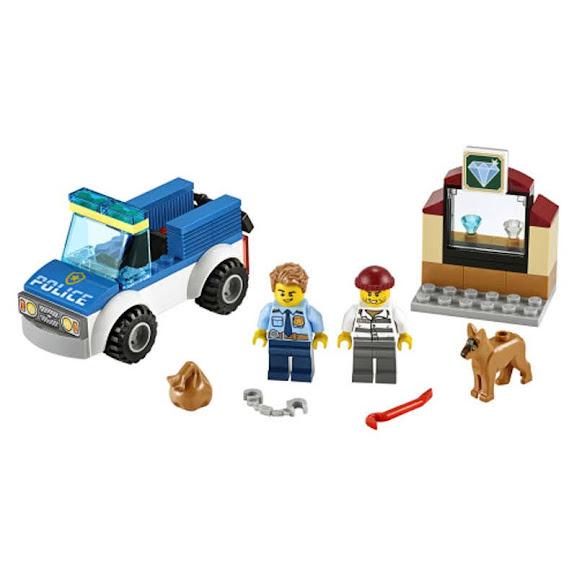 Contenido de Lego® 60241 Policía: Unidad Canina
