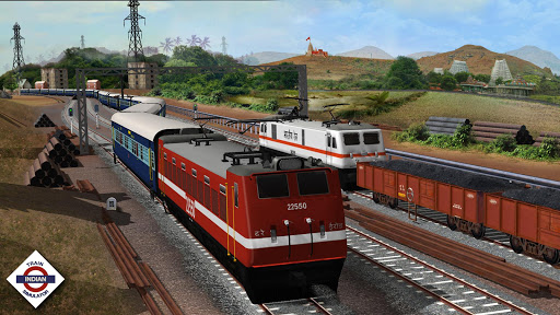 Indian Train Simulator  gameplay | by HackJr.Pw 1