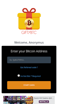 Gifty BTC - Earn Bitcoin