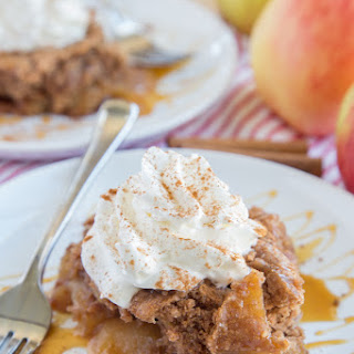 Slow Cooker Caramel Apple Spice Cake