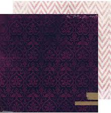 Heidi Swapp Hawthorne Double-Sided Cardstock 12X12 - Velvet UTGÅENDE