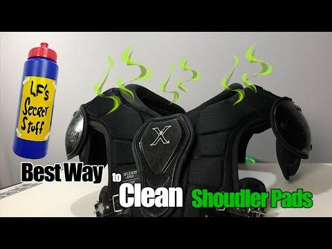 Image result for Are football Shoulder Pads Machine Washable?