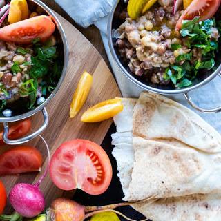 Fava Bean & Chickpea Porridge.