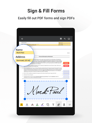 PDF Reader Pro-Annotate,Edit,Fill,Sign,Epub Reader google_1.4.7 Apk for Android 10