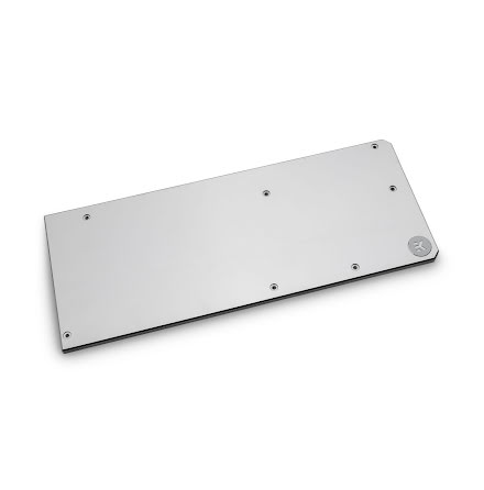 EK bakplate for EK-Vector Radeon VII Backplate – Nickel
