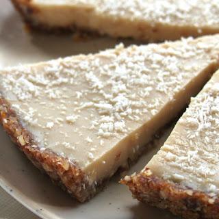 Classic No-Bake Coconut Lemon Tart [Vegan, Gluten-Free].