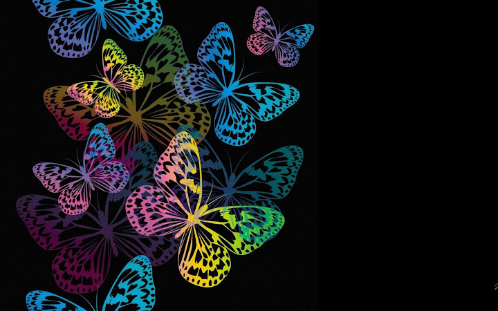 Butterfly Live Wallpaper Animated Butterflies Android App Screenshot