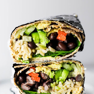 Hummus Vegetable Wrap.