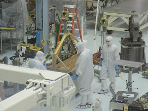 Photo: The Clean Room... the Hubble was also designed in here! Now dedicated to the construction of the James Webb Space Telescope (JWST)