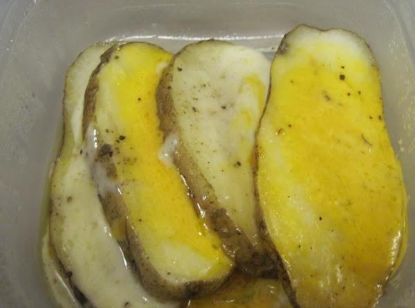 Cheesy Potato Planks Recipe