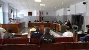 Panorámica de la sala en el inicio del juicio este martes