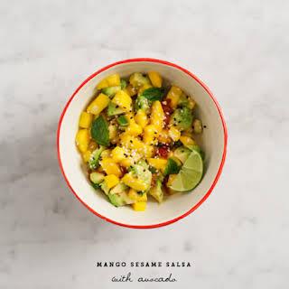 Mango Sesame Salsa.