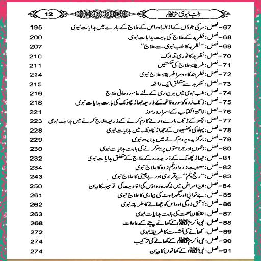 Tib E Nabvi Se Ilaj In Urdu Book