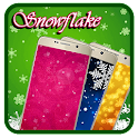 iridescent lilied snowflake icon