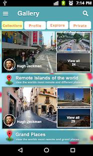 élő térkép Élő térkép és utca nézet   műholdas navigáció – Alkalmazások a  élő térkép