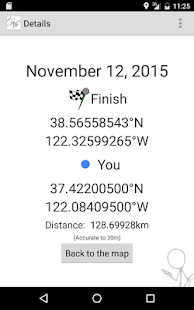 Geohash Droid- screenshot thumbnail