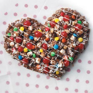 Chocolate Pizza Heart