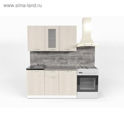 Кухонный гарнитур Лариса медиум 1 1400 мм