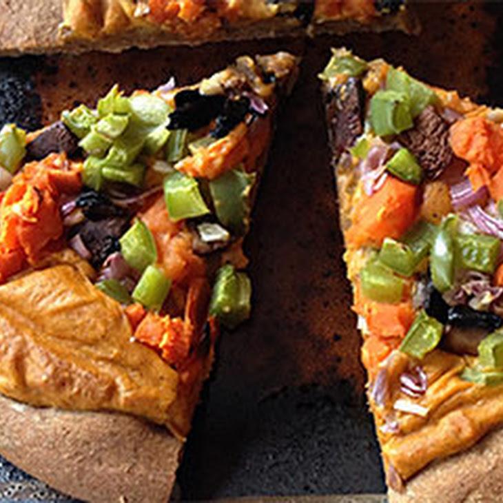 Sweet Potato Veggie Pizza