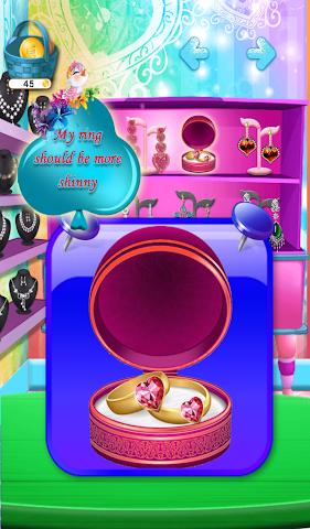 android Hochzeit-Shop Schmuck Spiele Screenshot 2