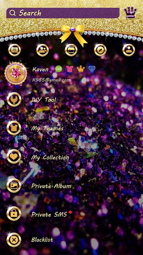 Download (FREE) GO SMS BLING THEME on PC & Mac with AppKiwi