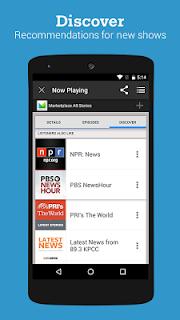 Stitcher Radio for Podcasts screenshot 04