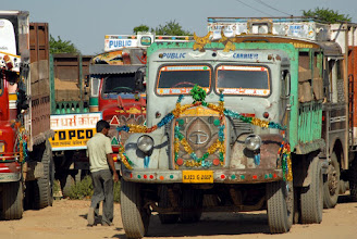 Photo: Back to the colorful Indian trucks for #FourWheeledFriday! +Akhil Kalsh +Annelies Kroen