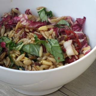 Orzo Salad with Radicchio