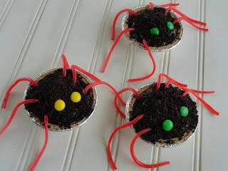 Chocolate Spider Treats Recipe