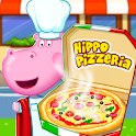 Pizza maker. Cooking for kids icon